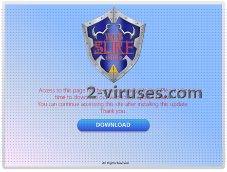 related image #1 from Web Surf Shield virus