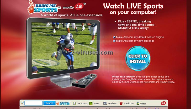 related image #1 from BringMeSports Toolbar
