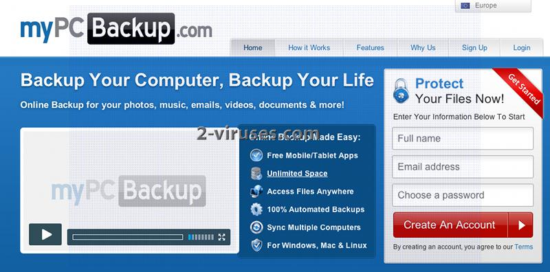 related image #1 from MyPC Backup