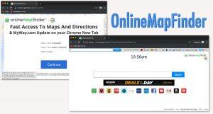 OnlineMapFinder Hijacker