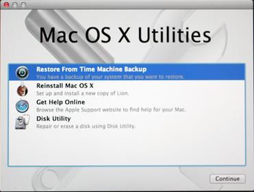 mac time machine backup in safe mode