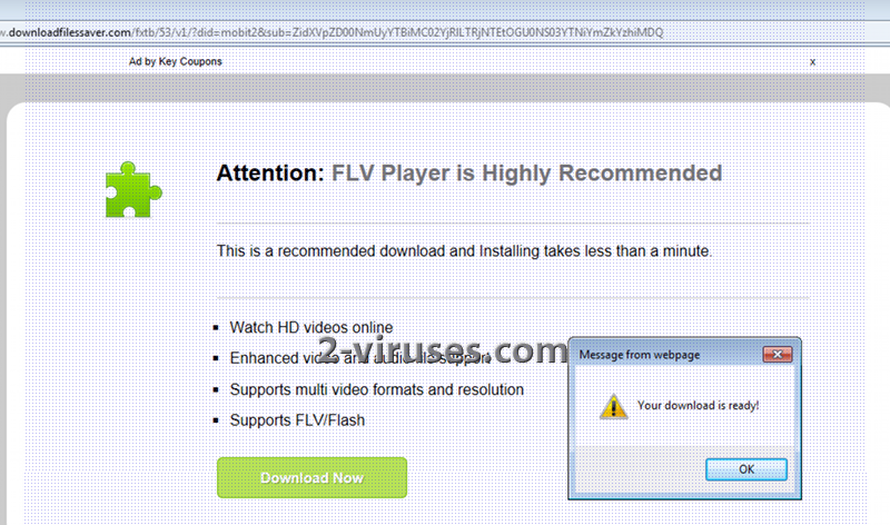 """related image #1 from """"FLV Player is highly recommended"""" popup"""