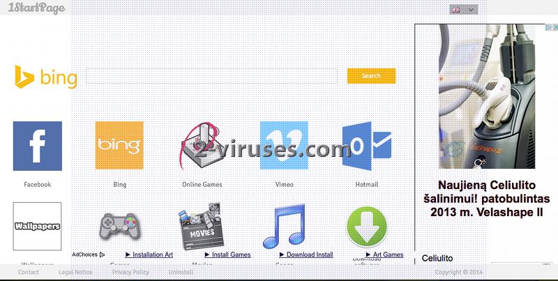 1startpage.com virus