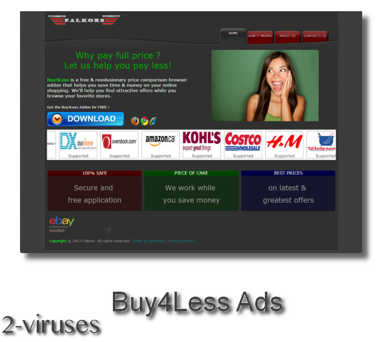 Buy4Less Ads remove