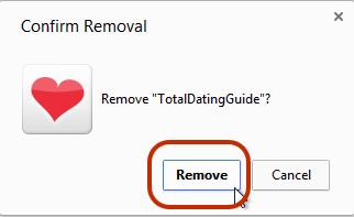 Confrim Remove