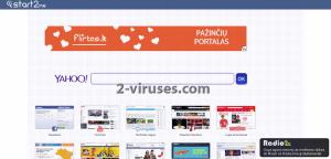 Start2.me virus