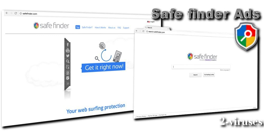 uninstall safe search virus
