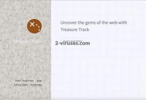 Treasure Track adware virus removal