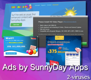 Ads by SunnyDay Apps