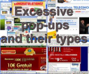 Excessive pop-ups