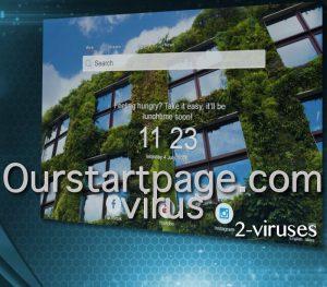 Ourstartpage.com Virus