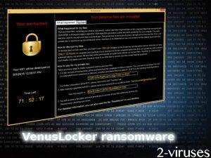 VenusLocker ransomware