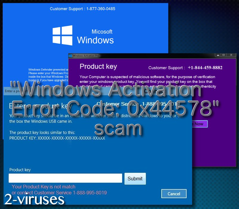 related image #1 from Windows Activation Error Code: 0x44578