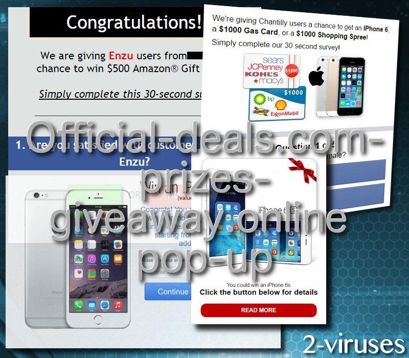 official-deal-com-prizes-giveaway-online-2-viruses