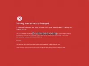 warninginternetsecuritydamaged-2-viruses