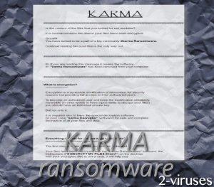 Karma Ransomware