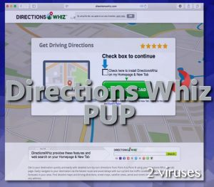 Directions Whiz PUP