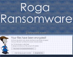 Roga ransomware