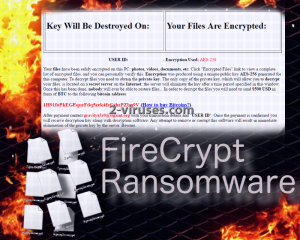 FireCrypt ransomware
