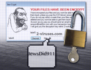 Jew Crypt ransomware