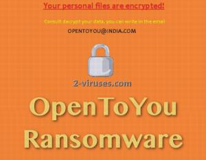 OpenToYou ransomware