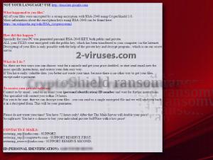 CryptoShield ransomware