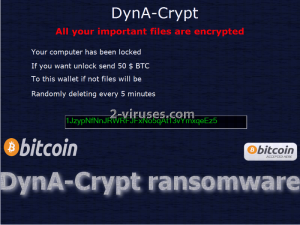 DynA-Crypt ransomware
