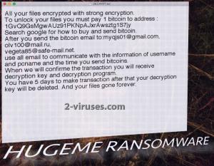 HugeMe ransomware