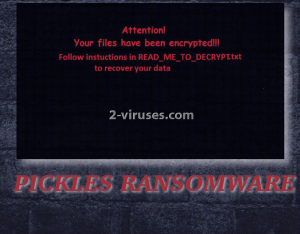 Pickles ransomware