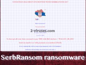 SerbRansom virus