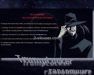 TrumpLocker ransomware