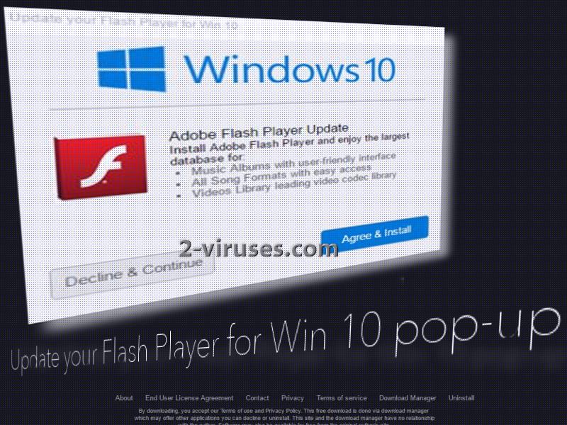 install adobe flash player win 10