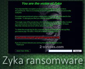 Zyka ransomware