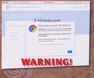 Chrome-survey.info pop-up