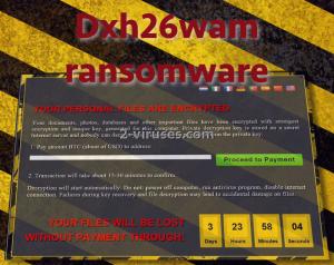 Dxh26wam ransomware