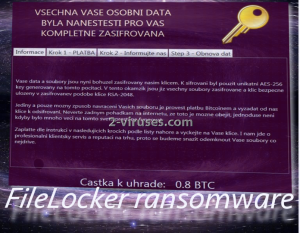 FileLocker ransomware