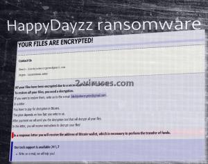HappyDayzz ransomware