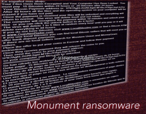 Monument ransomware