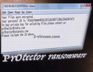 Pr0tector ransomware