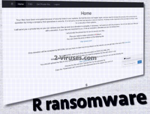 R ransomware
