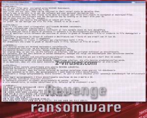 Revenge ransomware