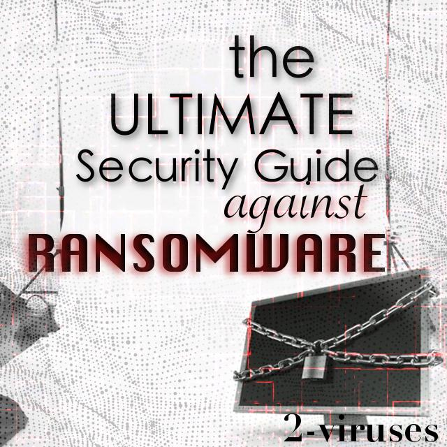 Ultimate Security Guide Against Ransomware