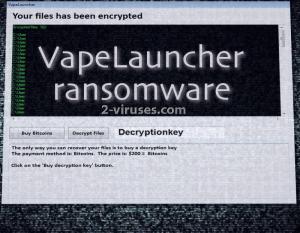 VapeLauncher virus