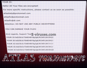 ATLAS ransomware