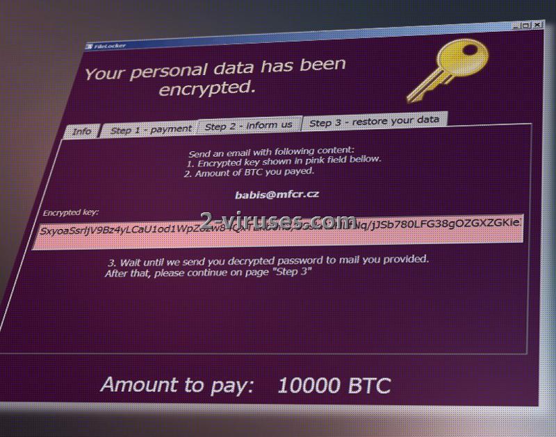 AutoEncryptor ransomware Step 2