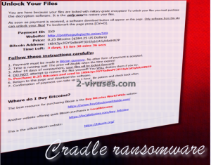 Cradle ransomware