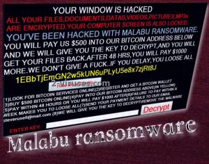 Malabu ransomware