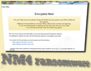 NM4 ransomware
