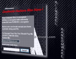 Rijndael ransomware